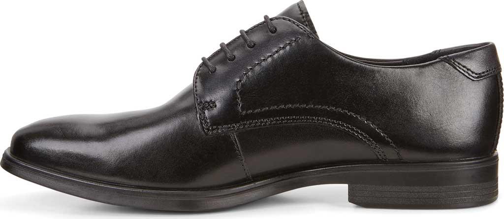 Men's ECCO Melbourne Oxford Tie, Black/Magnet Cow Leather, large, image 3