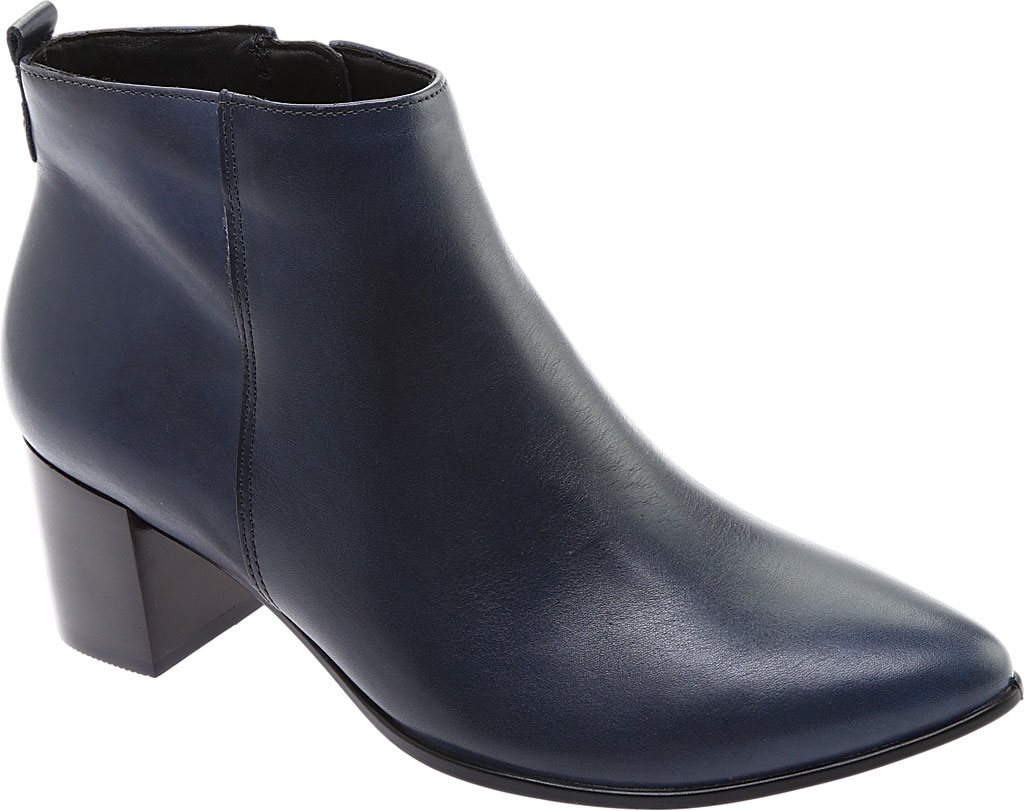 Women's ECCO Shape 45 Block Bootie, Pavement Calf Leather, large, image 1