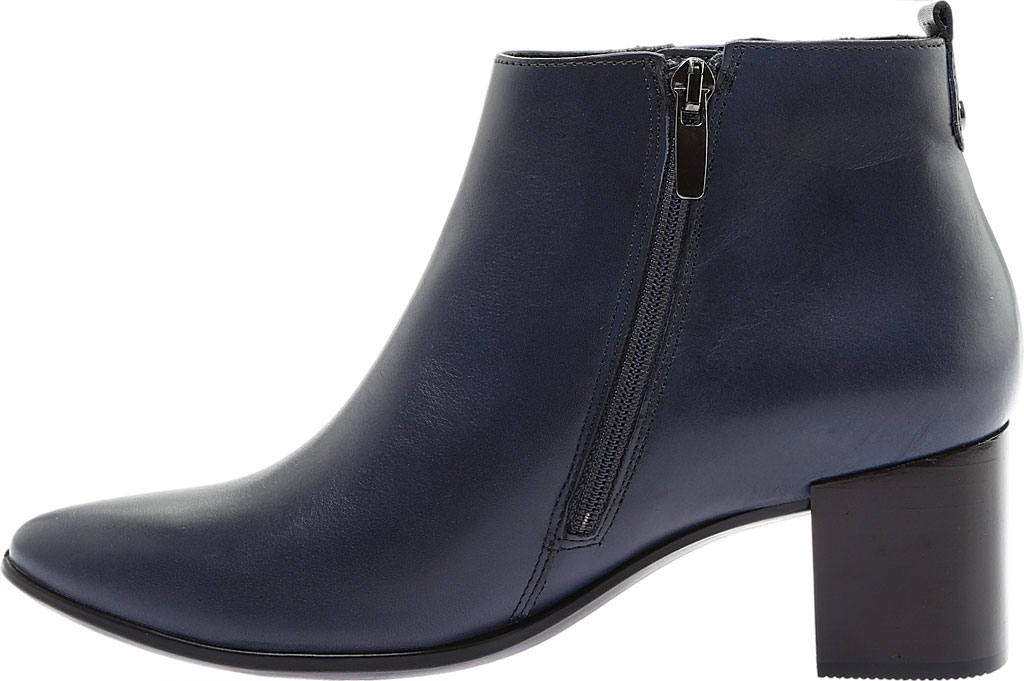 Women's ECCO Shape 45 Block Bootie, Pavement Calf Leather, large, image 3