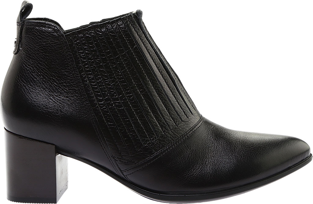 Women's ECCO Shape 45 Block Ankle Bootie, Black Stretch Calf Leather, large, image 2