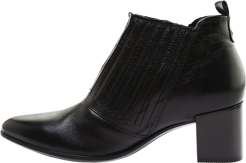 Women's ECCO Shape 45 Block Ankle Bootie, Black Stretch Calf Leather, large, image 3