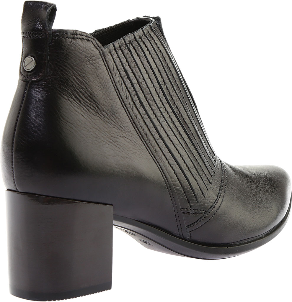 Women's ECCO Shape 45 Block Ankle Bootie, Black Stretch Calf Leather, large, image 4