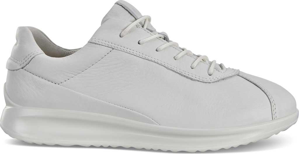 Women's ECCO Aquet Lace Sneaker, White Leather, large, image 2