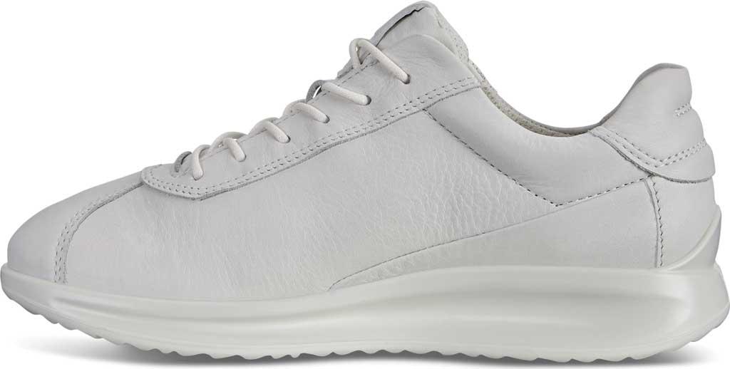 Women's ECCO Aquet Lace Sneaker, White Leather, large, image 3