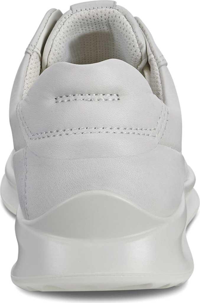 Women's ECCO Aquet Lace Sneaker, White Leather, large, image 4