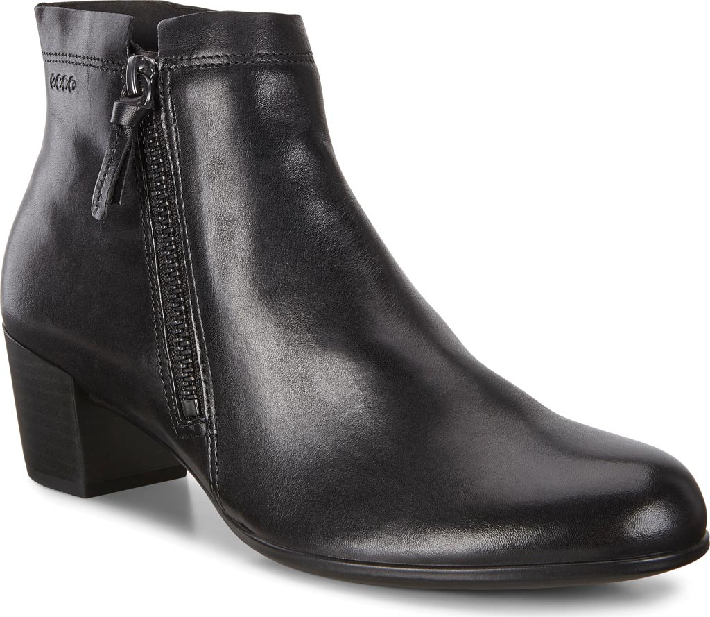 Women's ECCO Shape M 35 Ankle Boot, Black Cow Leather, large, image 1