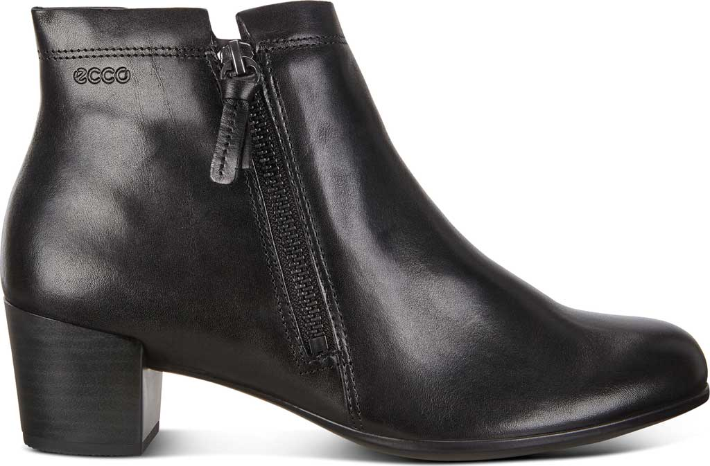 Women's ECCO Shape M 35 Ankle Boot, Black Cow Leather, large, image 2