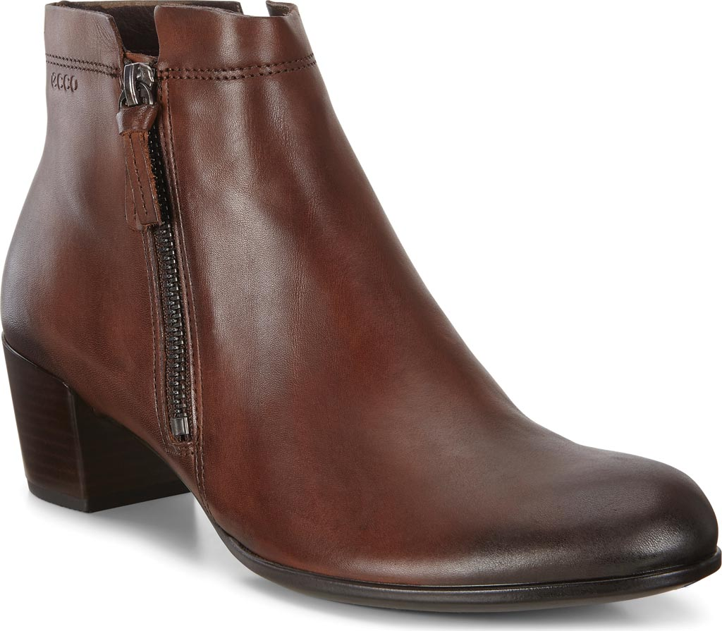 Women's ECCO Shape M 35 Ankle Boot, Bison Full Grain Leather, large, image 1