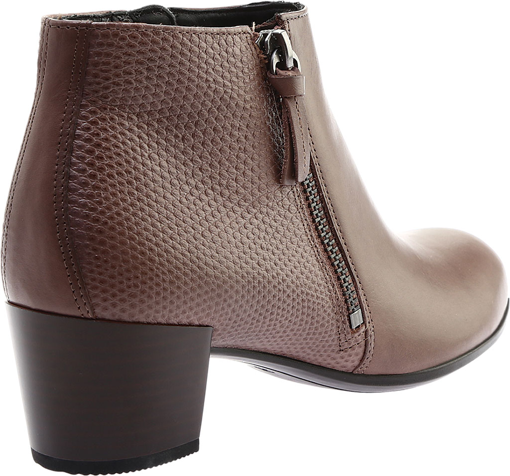 Women's ECCO Shape M 35 Ankle Bootie, Deep Taupe Calf Leather/Deep Taupe Cow Leather, large, image 4