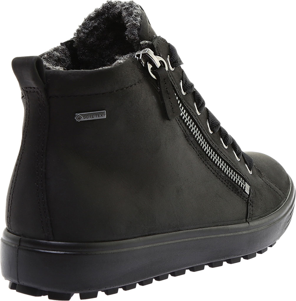 Women's ECCO Soft 7 Tred GORE-TEX High Top Sneaker, Black Cow Oil Nubuck, large, image 4