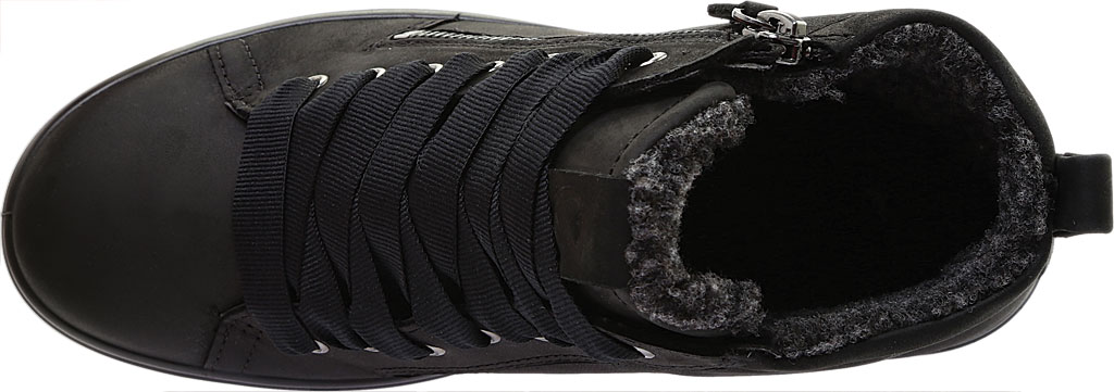 Women's ECCO Soft 7 Tred GORE-TEX High Top Sneaker, Black Cow Oil Nubuck, large, image 5