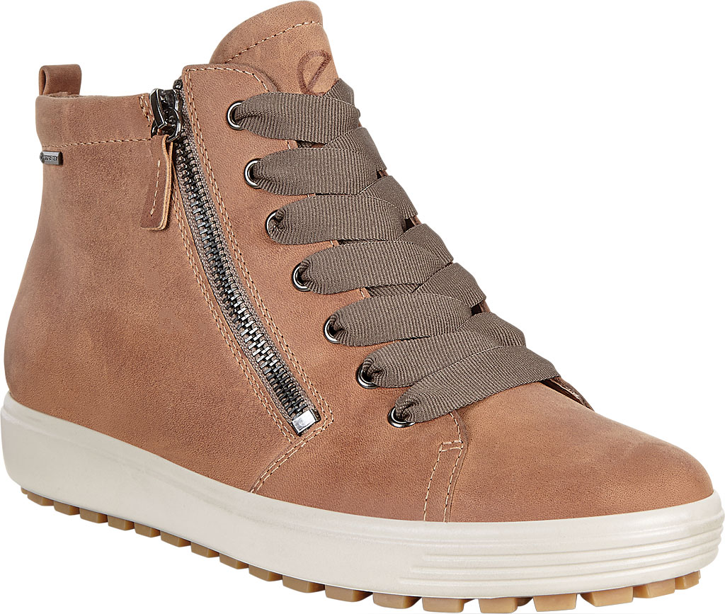 Women's ECCO Soft 7 Tred GORE-TEX High Top Sneaker, Cashmere Cow Oil Nubuck, large, image 1