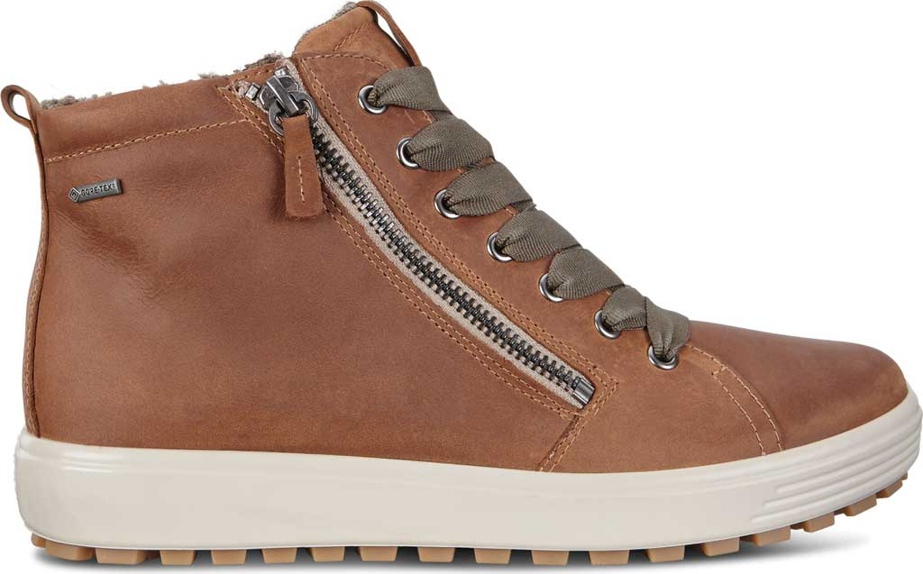 Women's ECCO Soft 7 Tred GORE-TEX High Top Sneaker, Cashmere Cow Oil Nubuck, large, image 2