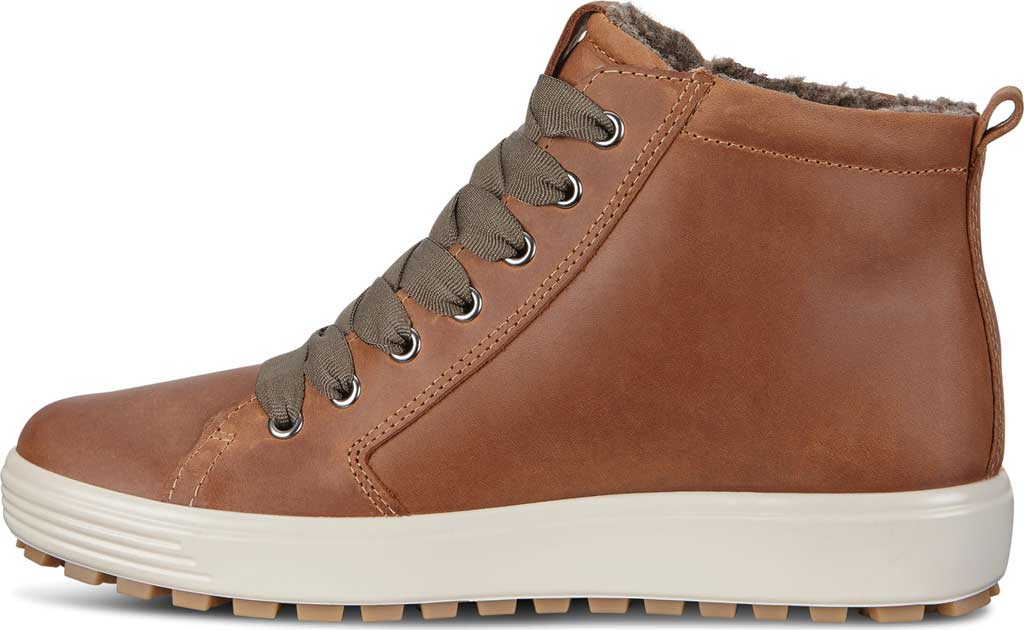 Women's ECCO Soft 7 Tred GORE-TEX High Top Sneaker, Cashmere Cow Oil Nubuck, large, image 3