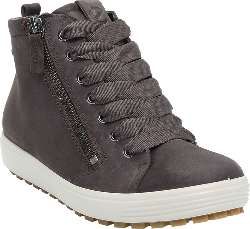 Women's ECCO Soft 7 Tred GORE-TEX High Top Sneaker, Shale Oil Nubuck, large, image 1