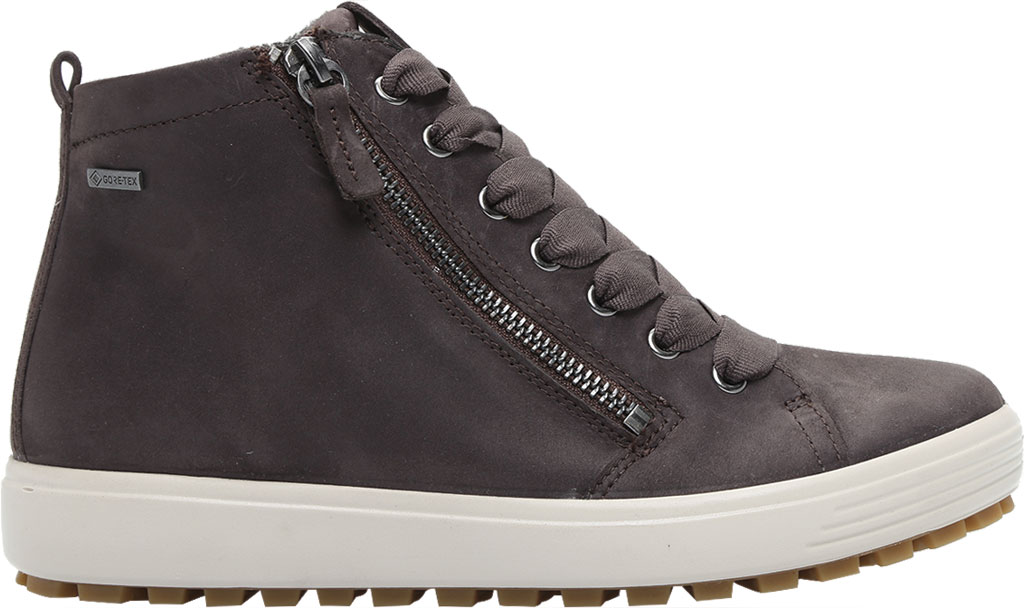 Women's ECCO Soft 7 Tred GORE-TEX High Top Sneaker, Shale Oil Nubuck, large, image 2
