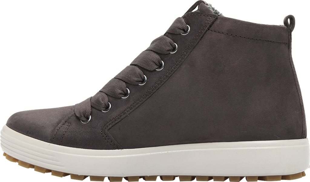 Women's ECCO Soft 7 Tred GORE-TEX High Top Sneaker, Shale Oil Nubuck, large, image 3