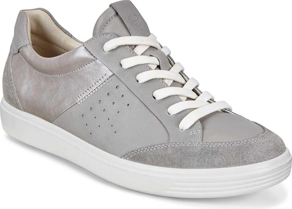Women's ECCO Soft 7 Leisure Sneaker, Wild Dove/Wild Dove/Wild Dove Leather, large, image 1