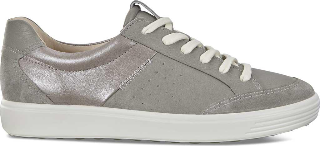 Women's ECCO Soft 7 Leisure Sneaker, Wild Dove/Wild Dove/Wild Dove Leather, large, image 2