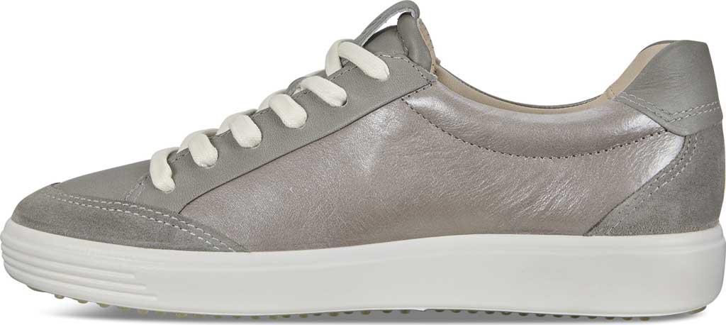 Women's ECCO Soft 7 Leisure Sneaker, Wild Dove/Wild Dove/Wild Dove Leather, large, image 3