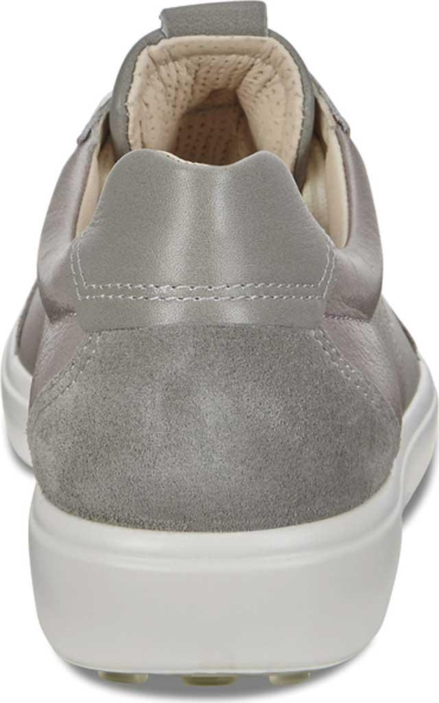Women's ECCO Soft 7 Leisure Sneaker, Wild Dove/Wild Dove/Wild Dove Leather, large, image 4