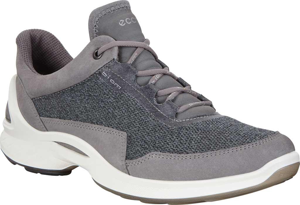 Women's ECCO BIOM Fjuel Mesh Sneaker, Titanium Leather, large, image 1