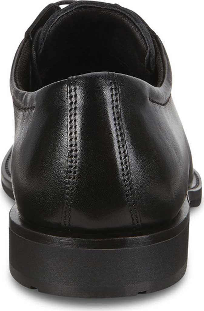 Men's ECCO Calcan Apron Toe Tie Oxford, Black Leather, large, image 4