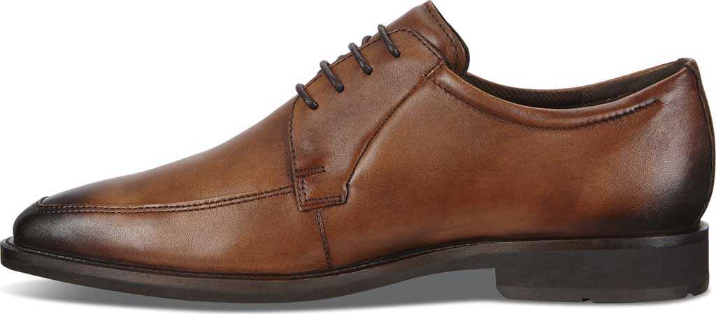 Men's ECCO Calcan Apron Toe Tie Oxford, Amber Leather, large, image 3