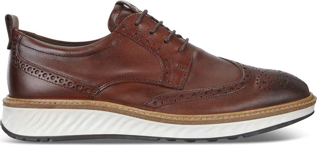 Men's ECCO ST1 Hybrid Brogue, Cognac Leather, large, image 2