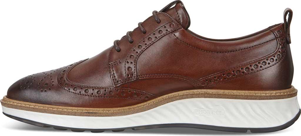 Men's ECCO ST1 Hybrid Brogue, Cognac Leather, large, image 3