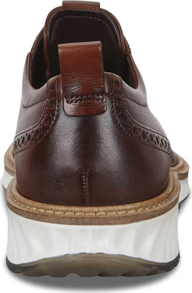 Men's ECCO ST1 Hybrid Brogue, Cognac Leather, large, image 4
