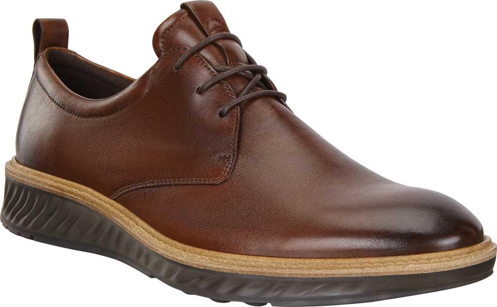 Men's ECCO ST1 Hybrid Plain Toe Sneaker, Cognac Leather, large, image 1