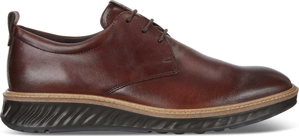 Men's ECCO ST1 Hybrid Plain Toe Sneaker, Cognac Leather, large, image 2