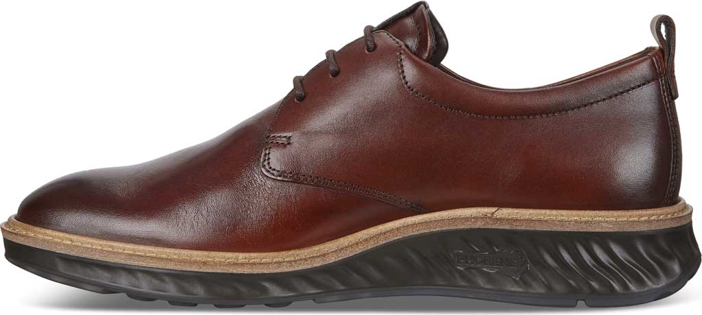 Men's ECCO ST1 Hybrid Plain Toe Sneaker, Cognac Leather, large, image 3