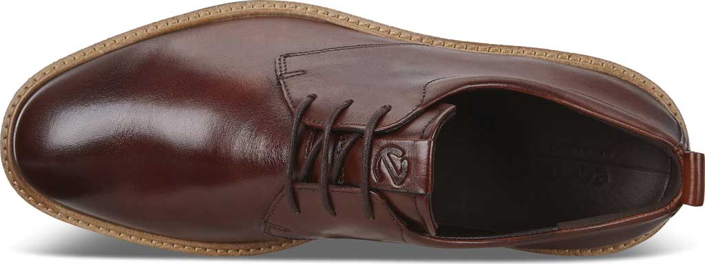 Men's ECCO ST1 Hybrid Plain Toe Sneaker, Cognac Leather, large, image 5