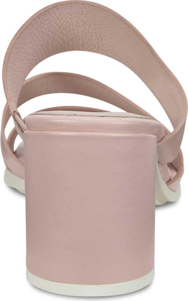 Women's ECCO Shape 65 Block Slide, Rose Dust Leather, large, image 4