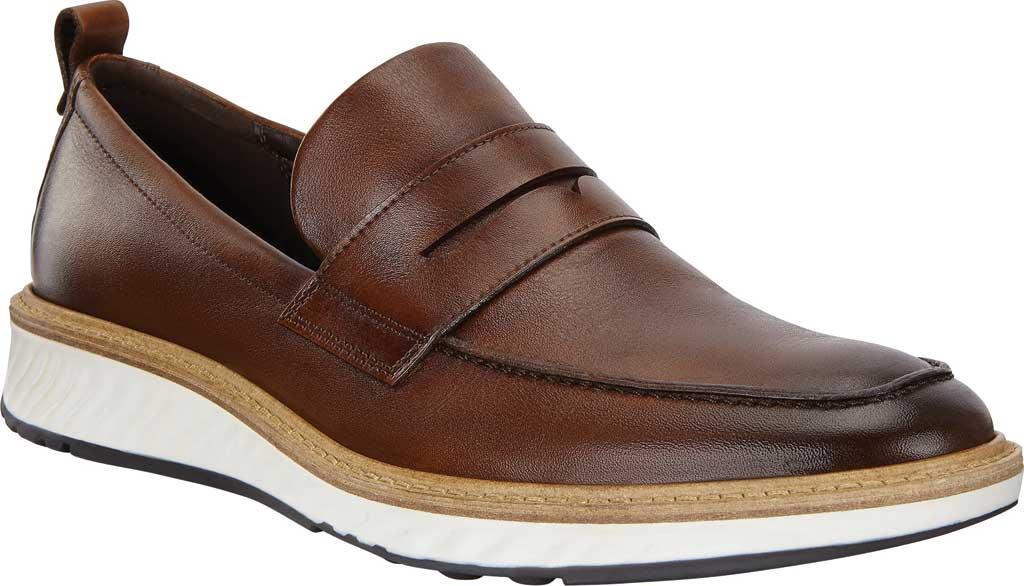 Men's ECCO ST1 Hybrid Penny Loafer, Cognac Leather, large, image 1