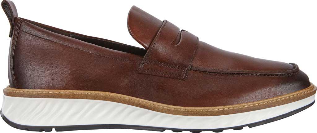 Men's ECCO ST1 Hybrid Penny Loafer, Cognac Leather, large, image 2