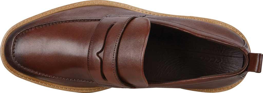 Men's ECCO ST1 Hybrid Penny Loafer, Cognac Leather, large, image 5