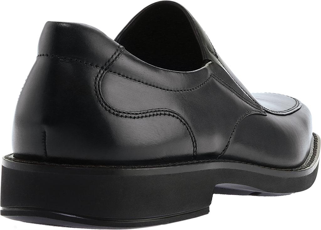 Men's ECCO Seattle Bicycle Toe Slip-on, Black Leather, large, image 4