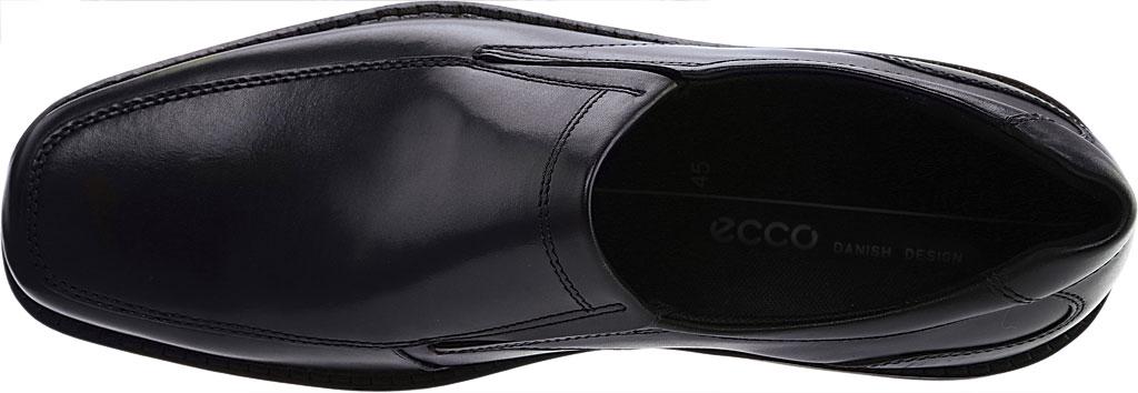 Men's ECCO Seattle Bicycle Toe Slip-on, Black Leather, large, image 5
