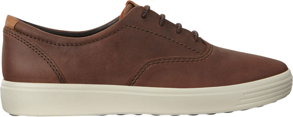 Men's ECCO Soft 7 CVO Sneaker, Cocoa Brown Leather, large, image 2
