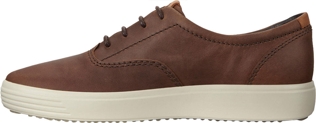 Men's ECCO Soft 7 CVO Sneaker, Cocoa Brown Leather, large, image 3