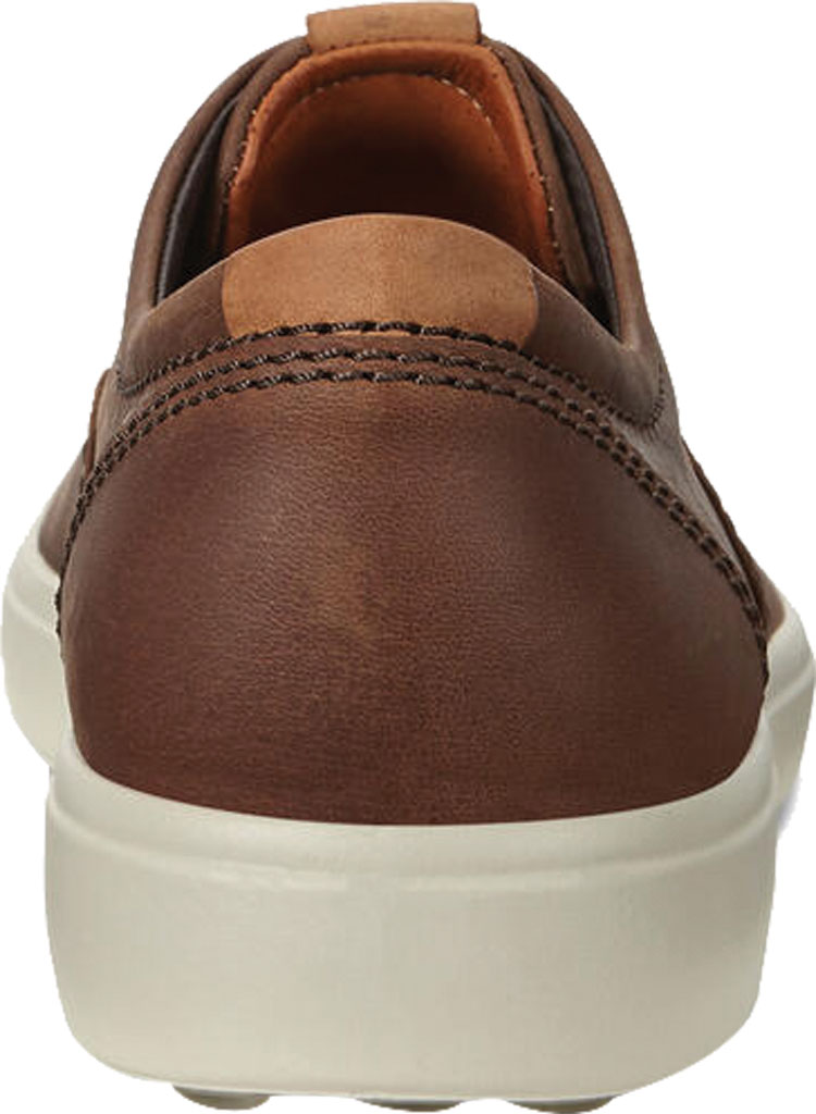 Men's ECCO Soft 7 CVO Sneaker, Cocoa Brown Leather, large, image 4
