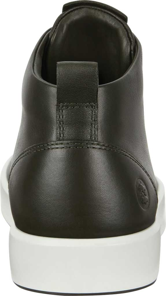Men's ECCO Soft 8 Mid Cut Sneaker, Deep Forest Leather, large, image 4