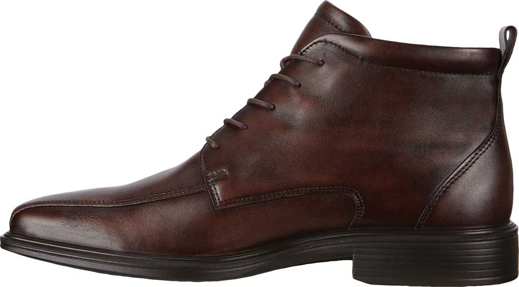 Men's ECCO Minneapolis Bike Toe Chukka Boot, Cocoa Brown Cow Leather, large, image 3