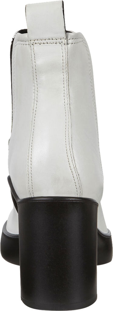 Women's ECCO Shape Sculpted Motion 55 Chelsea Ankle Boot, Bright White Cow Leather, large, image 4
