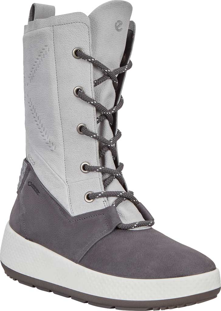 Women's ECCO Ukiuk 2.0 GORE-TEX Winter Boot, Magnet/Concrete Yak Leather, large, image 1