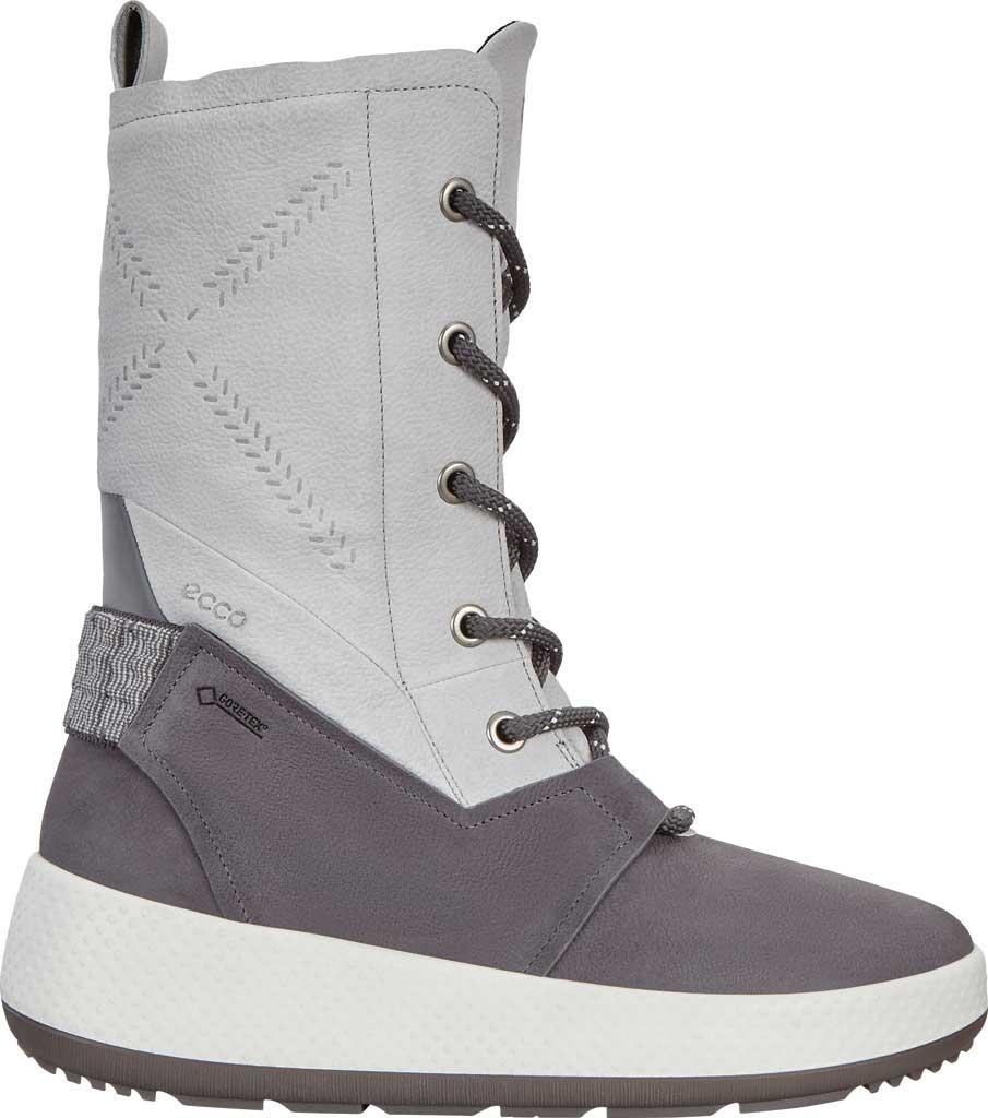 Women's ECCO Ukiuk 2.0 GORE-TEX Winter Boot, Magnet/Concrete Yak Leather, large, image 2
