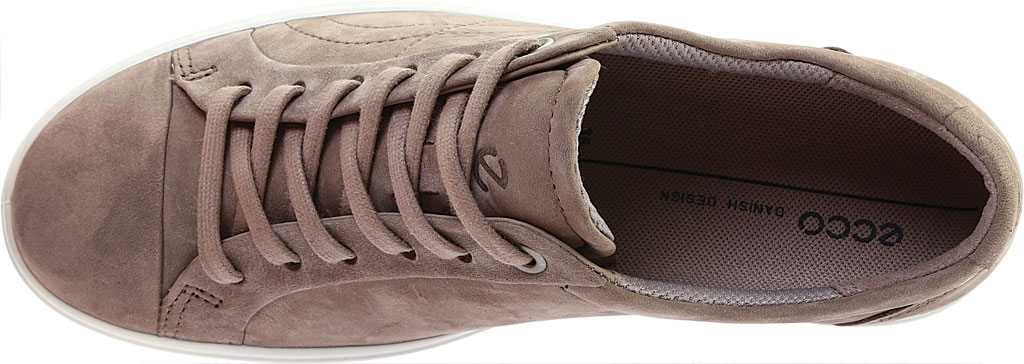 Women's ECCO Soft 7 Stitch Tie Sneaker, Warm Grey Leather, large, image 5
